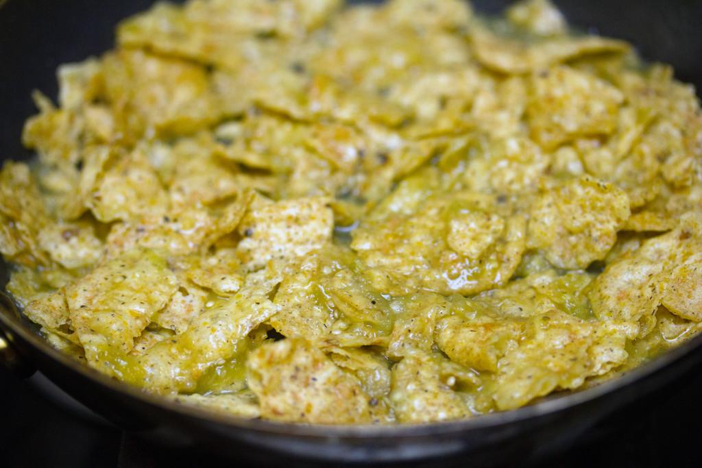 Tortilla Chips Salsa Verde