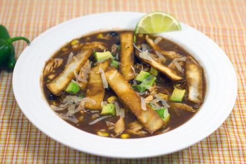 Crockpot Tortilla Soup (and a Ninja Slow Cooker Giveaway!)