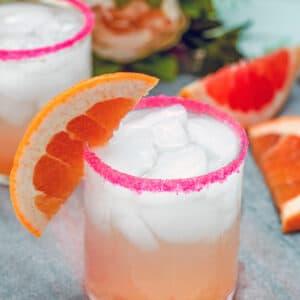 Grapefruit, grapefruit, grapefruit! With this easy-to-make Triple Grapefruit Fizz drink, you'll combine grapefruit vodka, fresh grapefruit juice, and grapefruit seltzer for one delicious citrus cocktail.