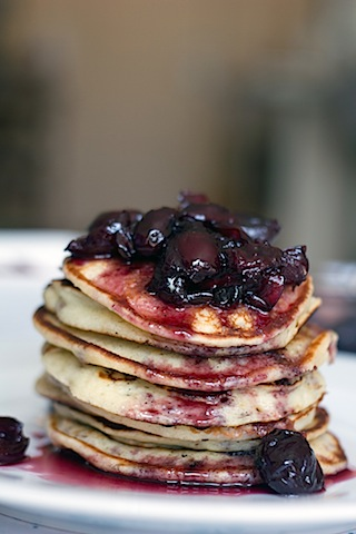Turkey Bacon Pancakes with Roasted Cherry Maple Syrup 5.jpg