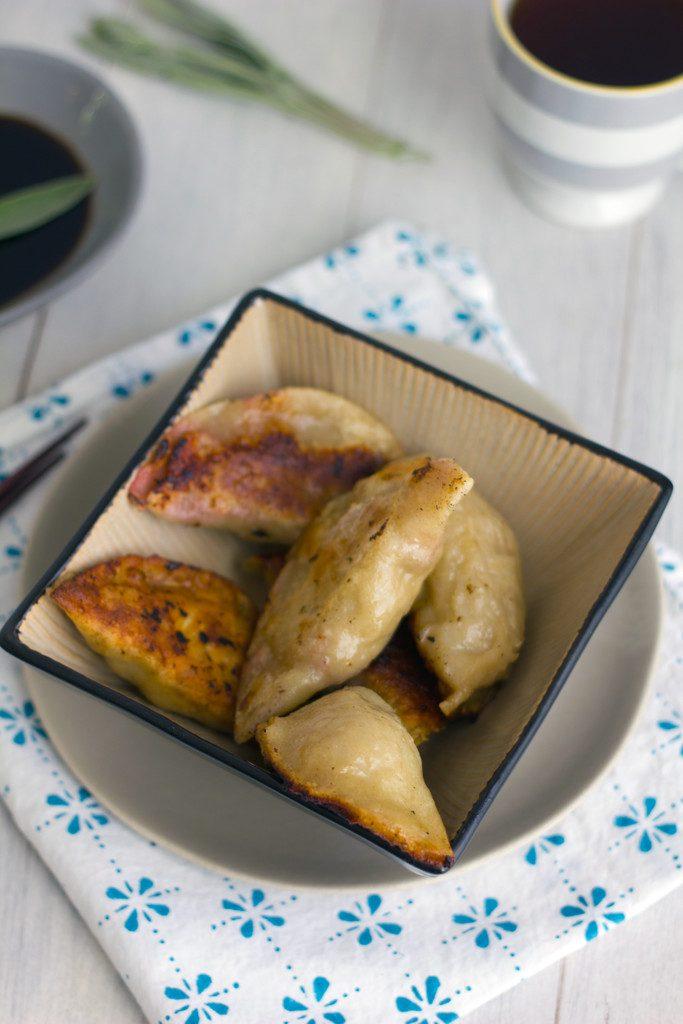 Turkey Cranberry Chinese Dumplings -- A fall twist on the traditional dumpling recipe!   wearenotmartha.com