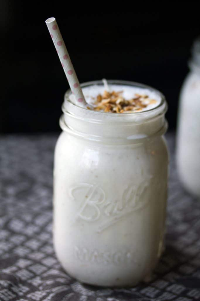 Vanilla Coconut Milkshake Recipe We Are Not Martha