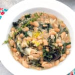 Healthy comfort food? You got it! This Warm Cannellini Bean, Chard, and Mascarpone Salad is a deliciously creamy dish that can be served as an entree or a side dish.