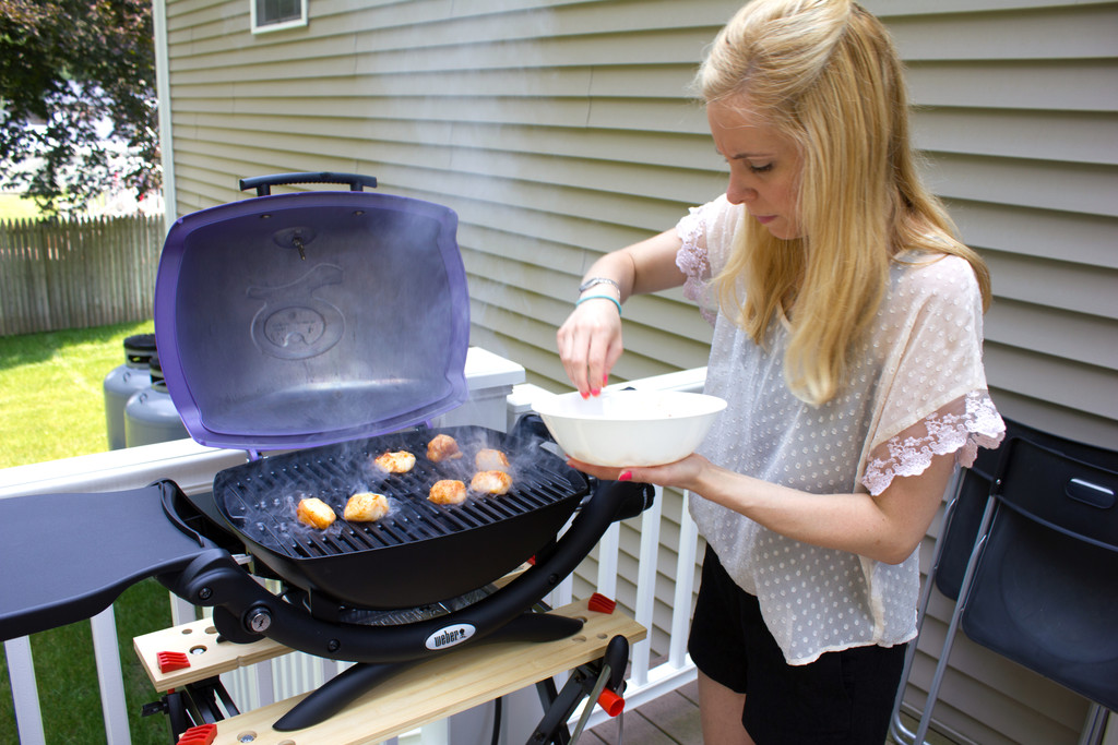how to cook scallops on the grill