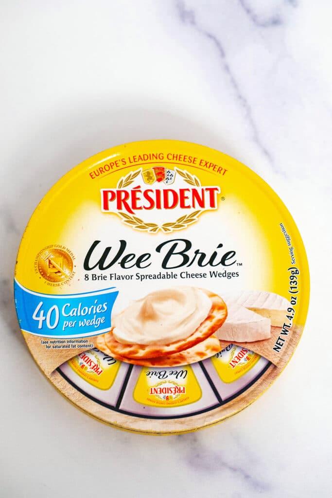 President Wee Brie in package