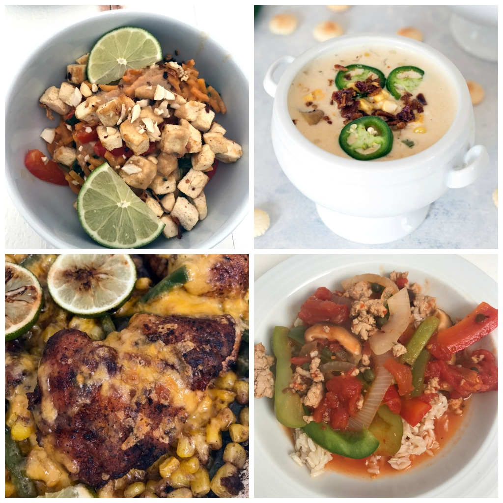 Weeknight Meals from May 2017 | wearenotmartha.com