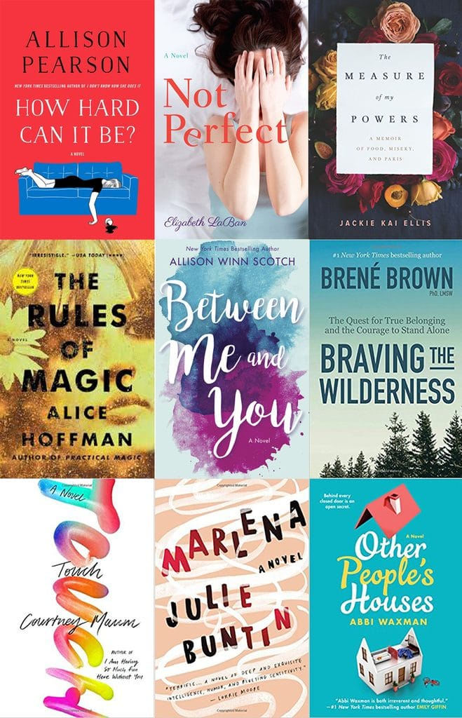 My book reviews from January 2018 to help you decide what books to read next & give you an endless supply of book recommendations | wearenotmartha.com