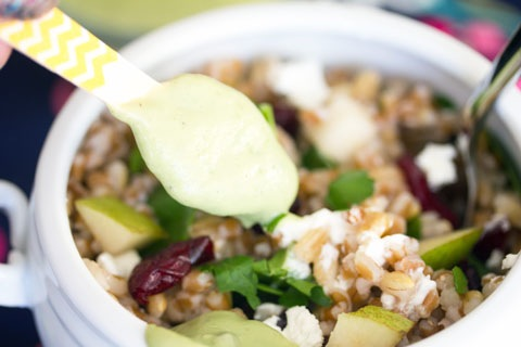 Wheat Berry Pearl Barley Salad with Pear and Goat Cheese 9.jpg
