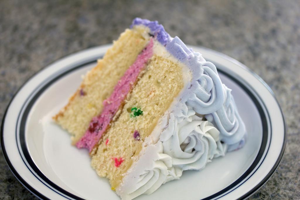 Wilton Rosette Ombre Cake 12