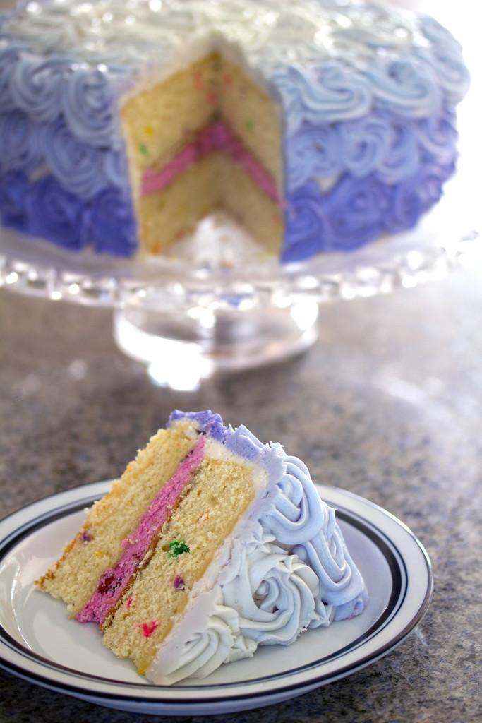 Wilton Rosette Ombre Cake 13