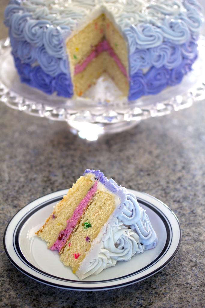 Wilton Rosette Ombre Cake