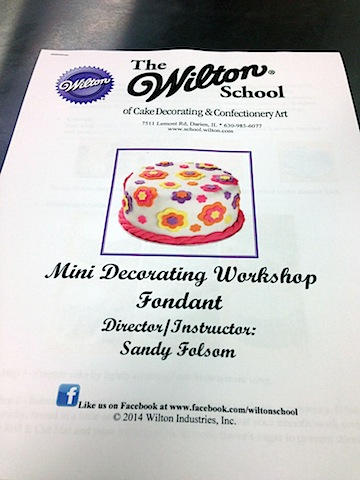 Cake Decorating Classes Folsom Ca : Wilton Sweet Up 2014