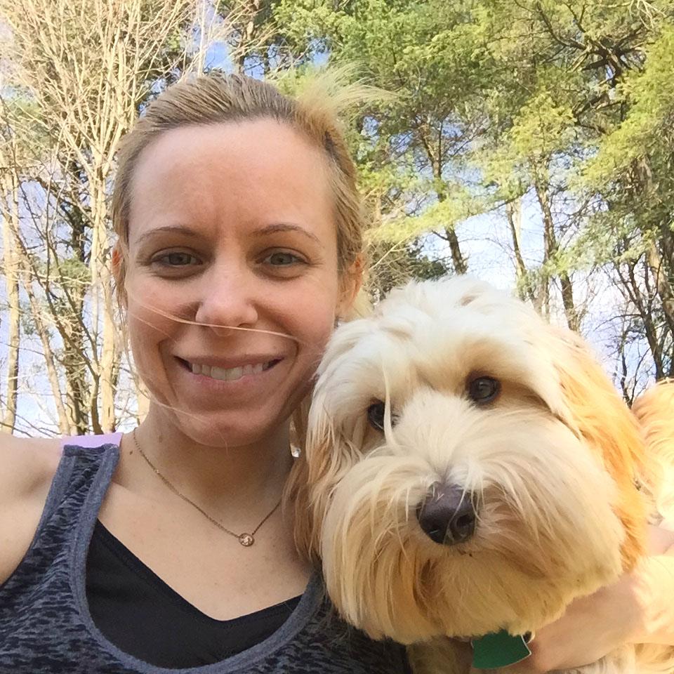 Winnie the Labradoodle Puppy Selfie | wearenotmartha.com