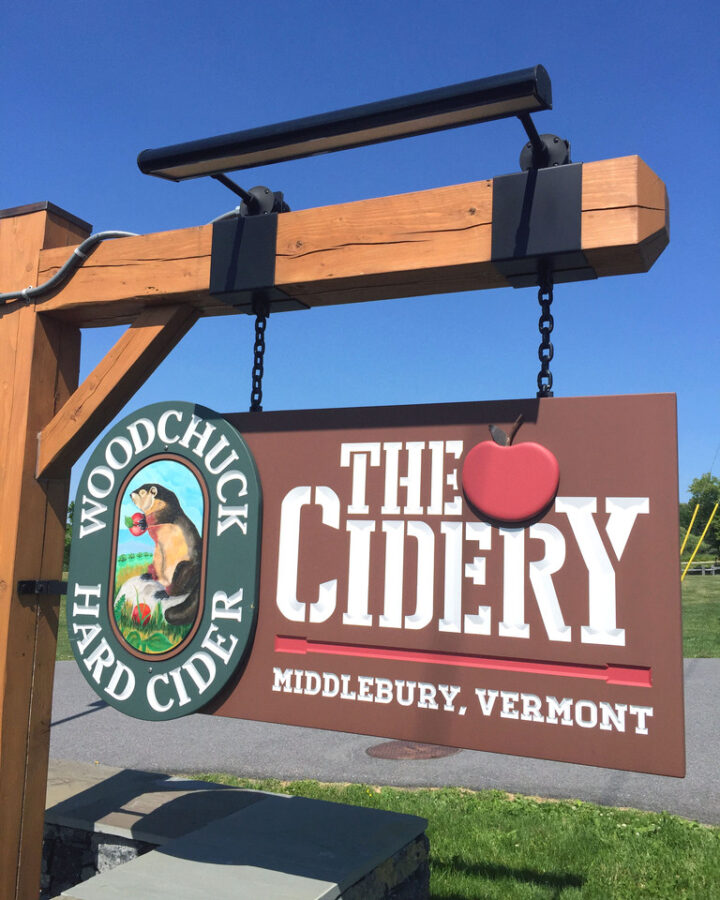 Woodchuck Cidery -- Brewery visits in Middlebury, Vermont | wearenotmartha.com