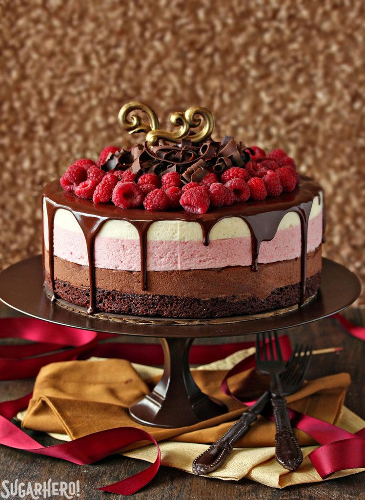 chocolate-raspberry-mousse-cake-2