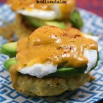 Mexican Eggs Benedict with Chorizo Biscuits and Chipotle Hollandaise