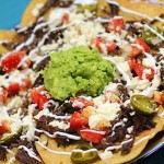 Mexican Nachos with Pulled Beef