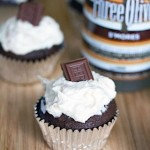 Three Olives S'mores Vodka Cupcakes
