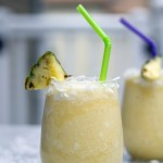 Frozen Pineapple Coconut Margarita