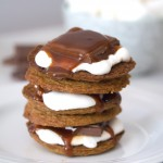 Salted Caramel Cookie S'mores