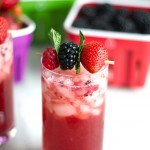Berry Mint Gin Smash (and a Crisp giveaway!)